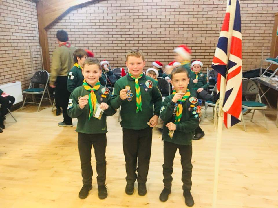 52nd Ayrshire Cubs Host Awards Ceremony
